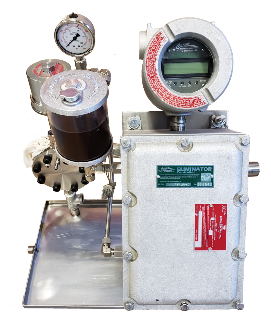 ELIMINATOR Solar Chemical Pump - Caron Controls